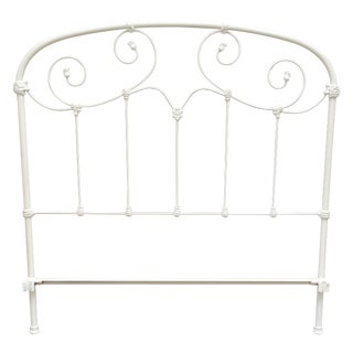Full Sized Iron Bedframe by Brass Beds of Virginia