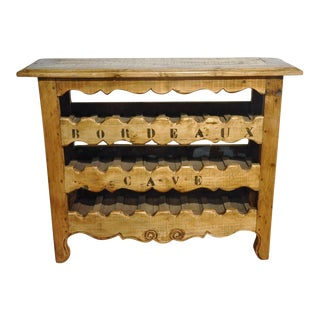19th Century French Louis XV Buffet Converted Into Wine Cabinet From Bordeaux