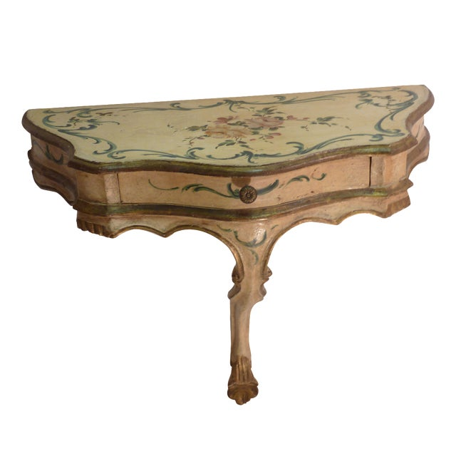 Image of Painted Wall Bracket Console