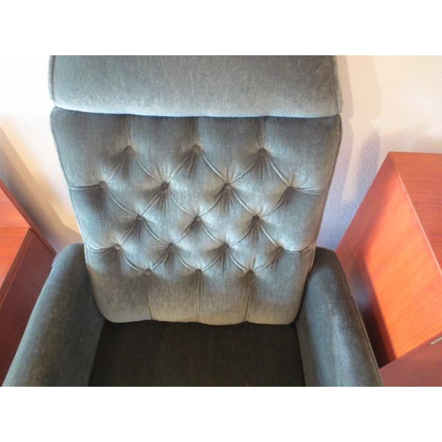 C. 1970s Green Office Chair - Image 7 of 7