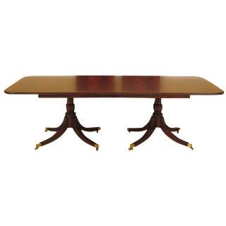Henkel Harris Mahogany Dining Room Table