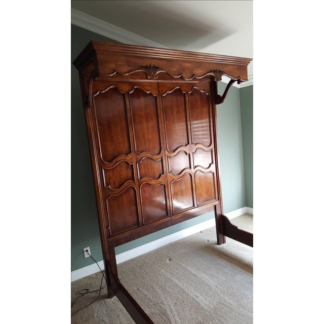 Henredon French Country Queen Bed - Image 5 of 9