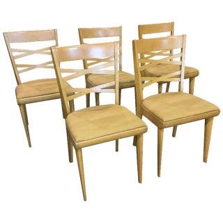 Mid-Century-Modern Heywood Wakefield Chairs - 5