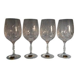 Noritake Crystal Rothschild Iced Tea Glasses - Set of 4