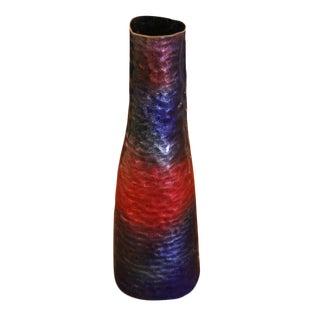 Paolo De Poli Enamel Vase