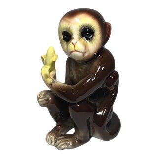 Vintage Tilso Ceramic Monkey