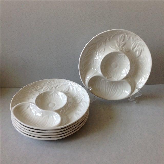 California Pottery Artichoke Plates - Set of 6 - Image 2 of 10