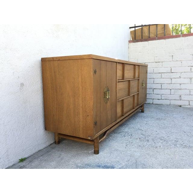 Mid-Century Solid Wood Dresser - Image 9 of 11