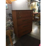 Image of 1950s Mid-Century Walnut Chest