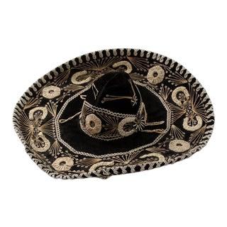 1950s Vintage Velvet Sombrero