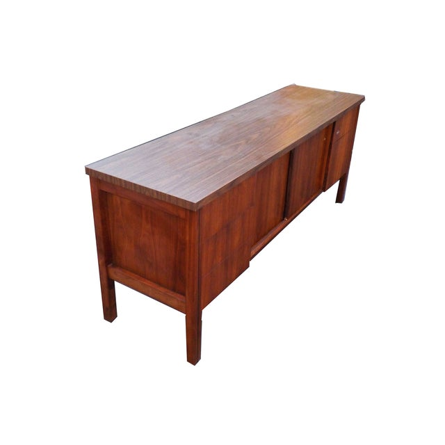 Mid Century Modern Wood Credenza - Image 3 of 6