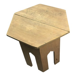 Moroccan Moorish End Table