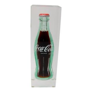 Coca-Cola in Lucite