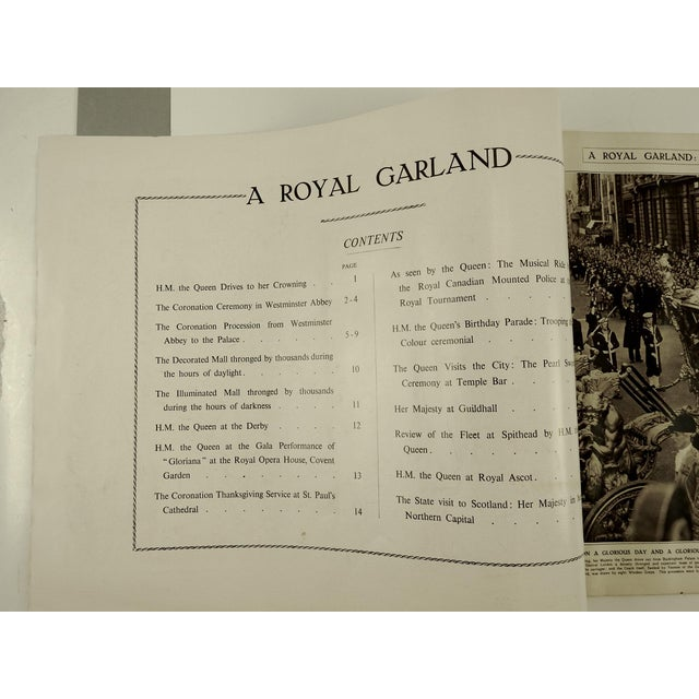 1953 Queen Elizabeth Coronation Book - Image 5 of 10