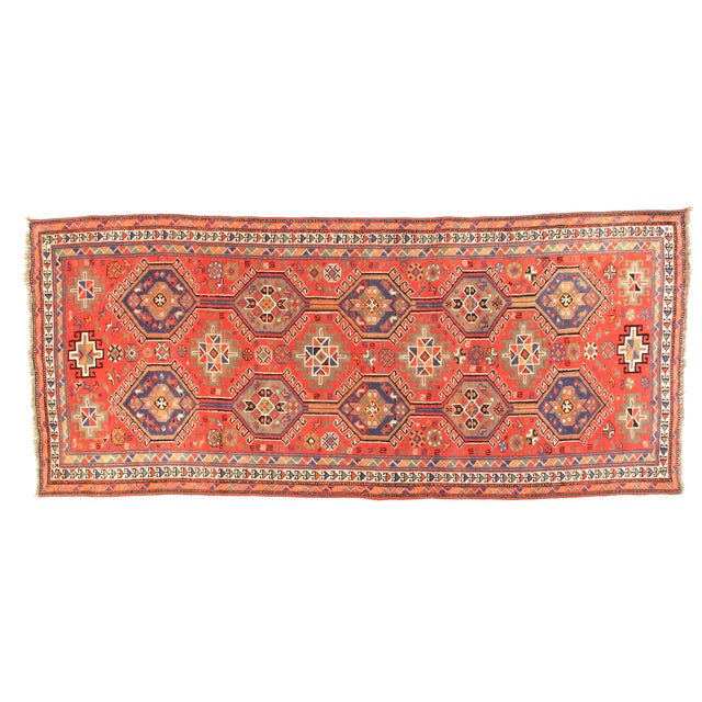 "Persian Shiraz, 4'' x 9'2"" - Image 1 of 4"