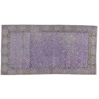 "Antique Samarkand Khotan Rug - 4'3"" X 8'1"""