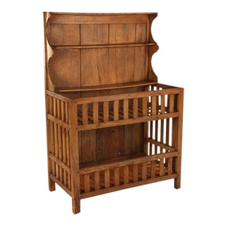 """Early 1900s French Country """"Egouttoir"""" Cabinet"""