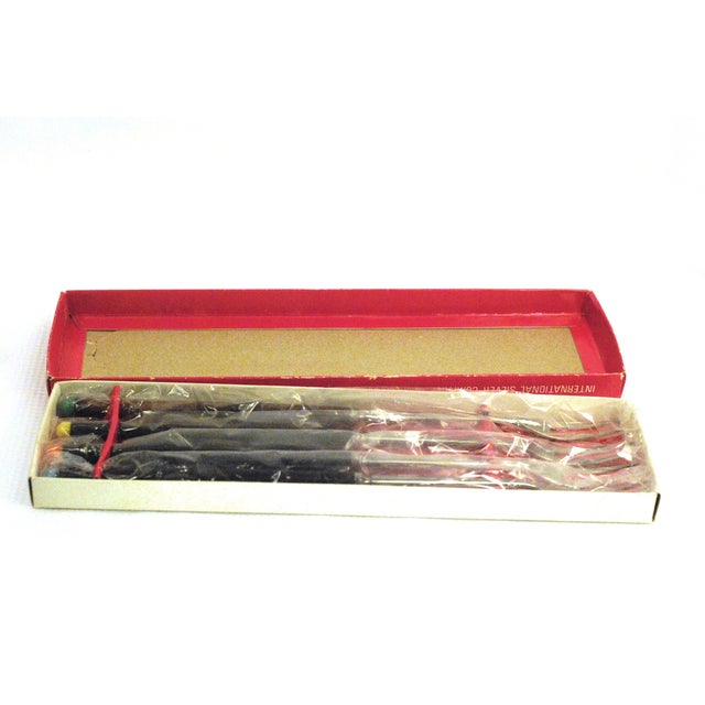 Mid-Century International Fondue Forks - Set of 4 - Image 4 of 9