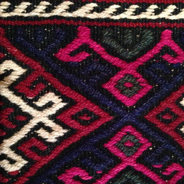 Vintage Kilim Pillow Cover - Image 4 of 5