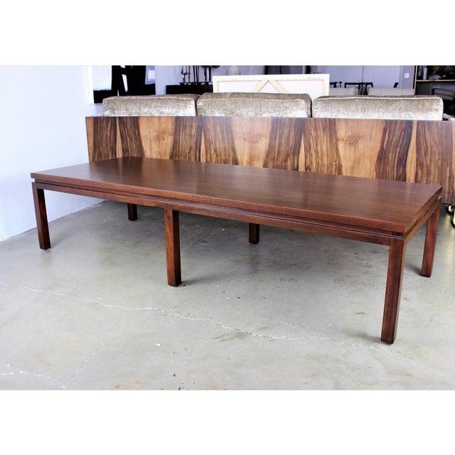 Harvey Probber Mahogany Coffee Table - Image 8 of 8