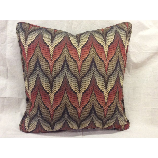 Tapestry Upholstered Pillow - Image 3 of 7