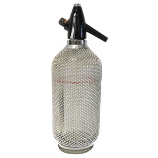 Wire Mesh Seltzer Bottle