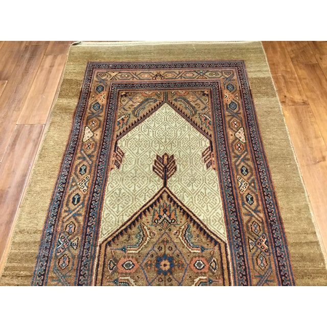 Antique North West Persian Hall Runner - Image 2 of 5