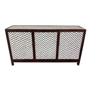 Brownstone Chevron Bone Inlay Sideboard