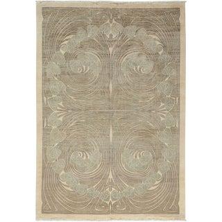 "Shalimar, Hand Knotted Art Nouveau Area Rug - 6' 2"" X 8' 10"""