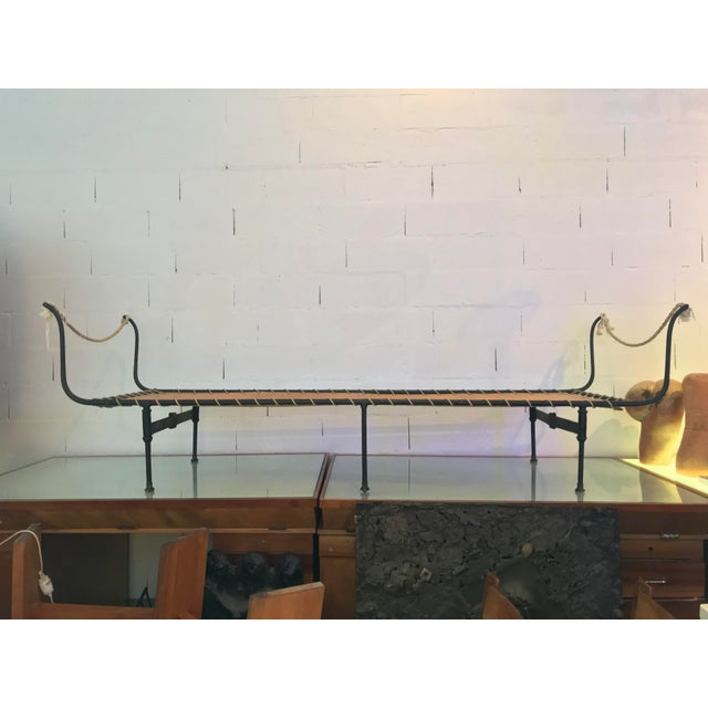 19th C. Antique French Campaign Daybed, Two Available - Image 11 of 11