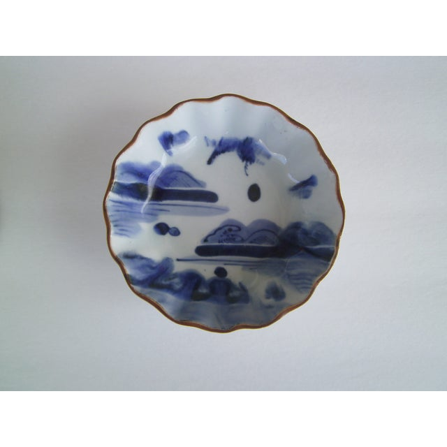 Oriental Blue & White Bowls - A Pair - Image 5 of 8