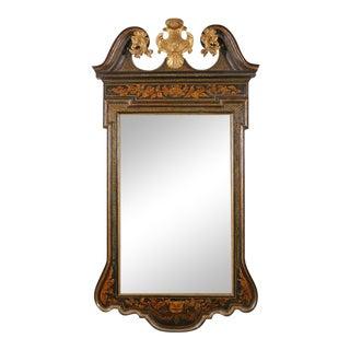 George II Japanned Mirror