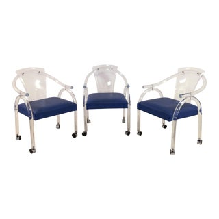 Charles Hollis Jones Style Chairs - Set of 3