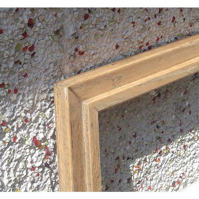 Vintage Oak Picture Frame - Image 4 of 4