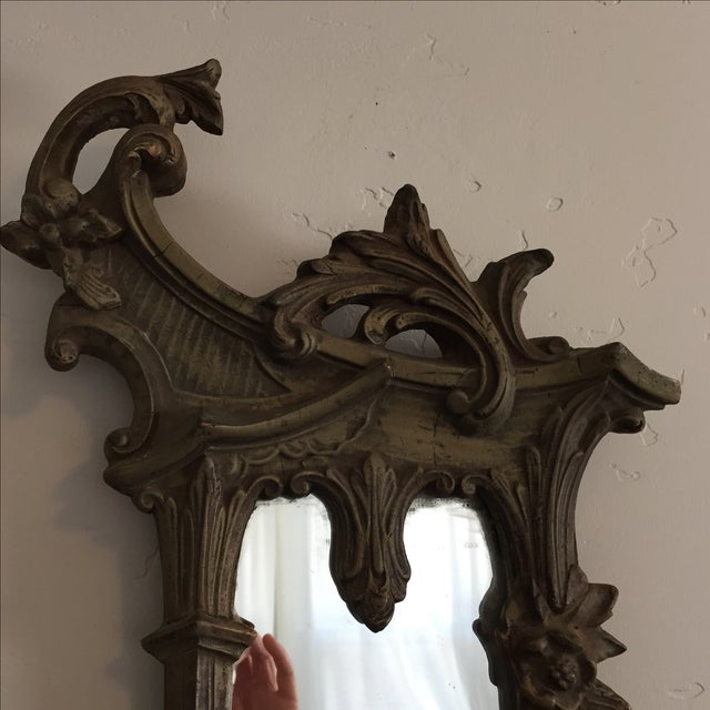 Antique Ornate Victorian Mirror - Image 6 of 6