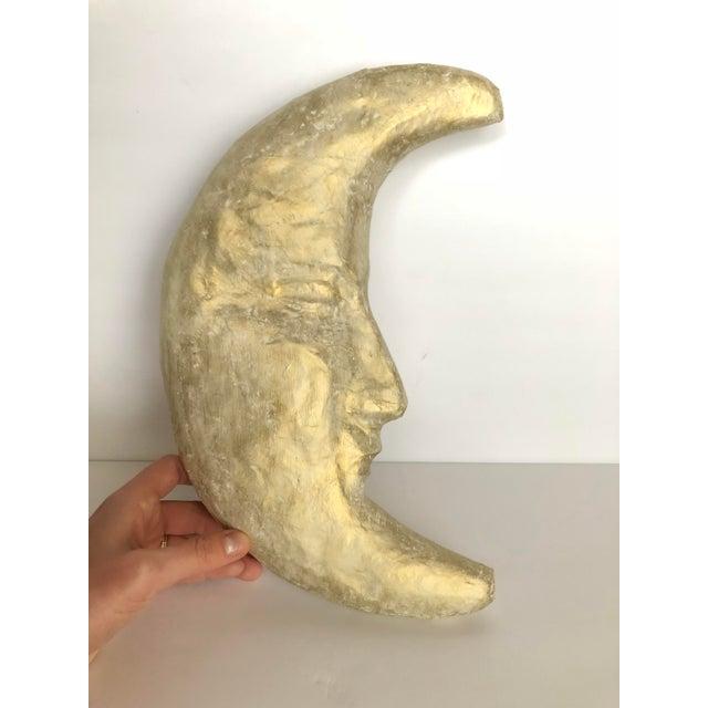 Handmade Papier-mâché Moon - Image 2 of 5