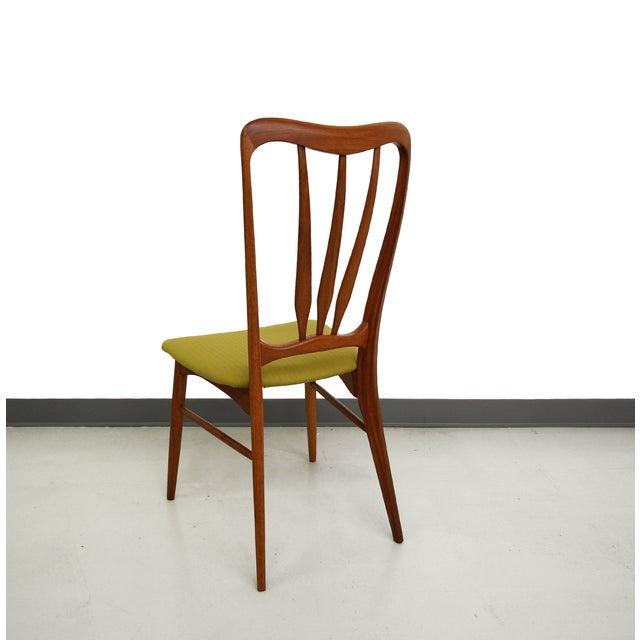Danish Teak Koefoed Hornslet Dining Chairs -Set 6 - Image 4 of 8