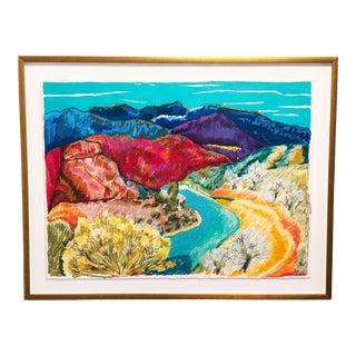 Impressionist Pastel Landscape Painting