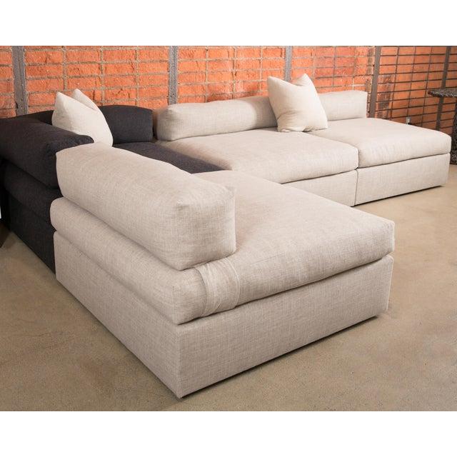 Bauhaus Style Modular Sectional Sofa - Image 2 of 5