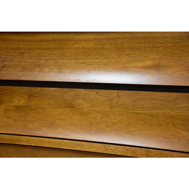 Johnson Carper Walnut and Formica Tall Dresser - Image 7 of 8