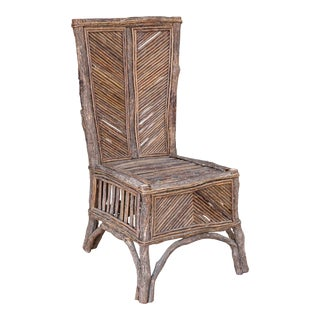 "Vintage Rustic ""Twig"" Chair from France"