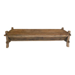 19th Century Japanese Coffee Table or Bench with Storage