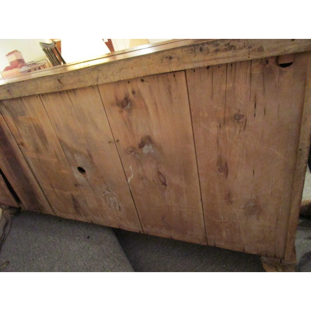 Image of Vintage Country Pine Buffet