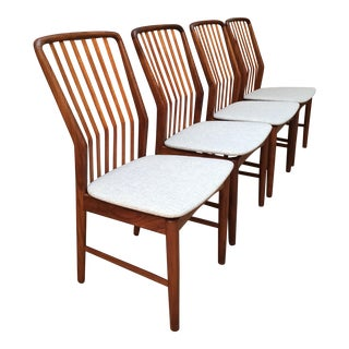Svend Madsen Dining Chairs - Set of 4