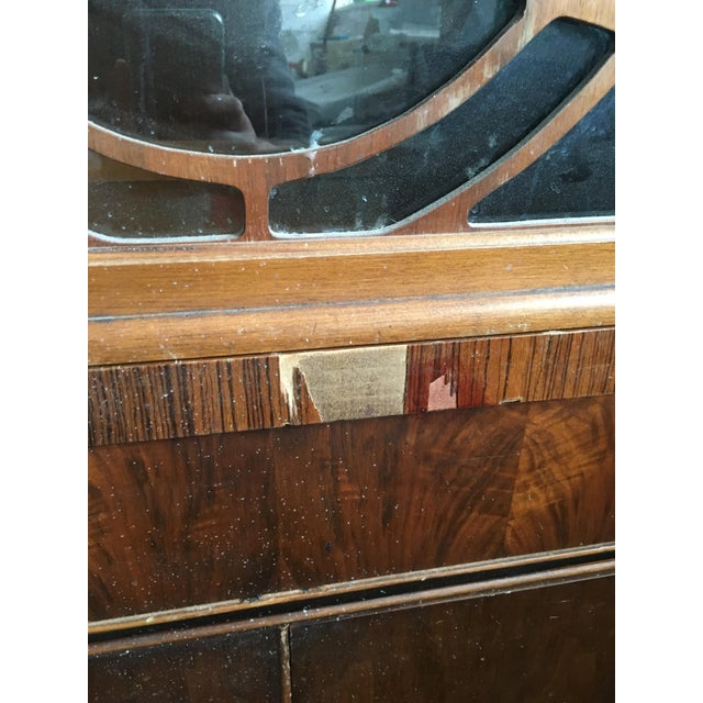 Vintage Waterfall Cabinet or Bar - Image 4 of 9