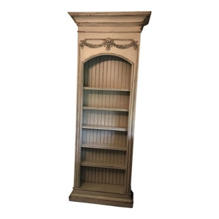 Distressed Off-White Habersham Italia Bookcase