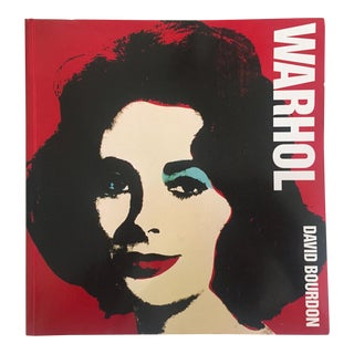 """ Warhol "" Vintage 1995 Large Volume Iconic Collector's Pop Art Book"