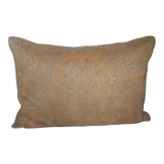 Fortuny Damask Lumbar Pillow
