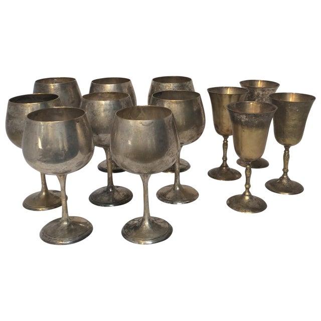 Vintage Silverplate Goblets - Set of 12 - Image 1 of 10