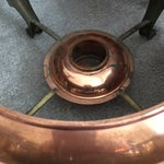 Image of Copper and Brass Serving Dish